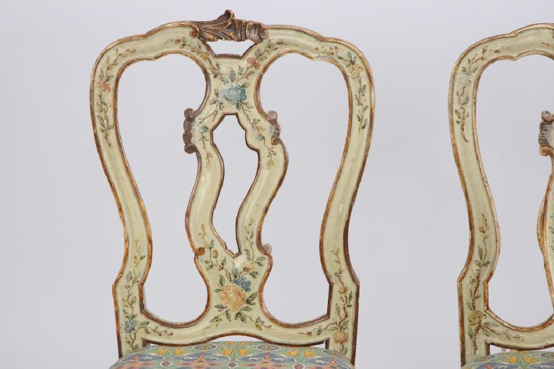 SET OF (4) FRENCH PROVINCIAL SIDE CHAIRS (19th c) - 6