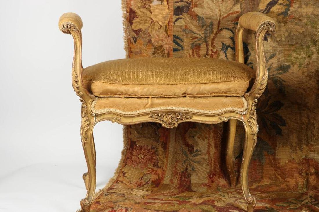 (3) PIECES OF DECORATIVE FRENCH FURNISHINGS - 7
