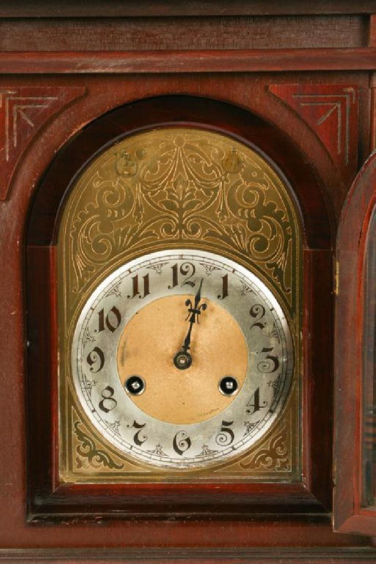 ANTIQUE JUNGHANS BRACKET CLOCK - 5