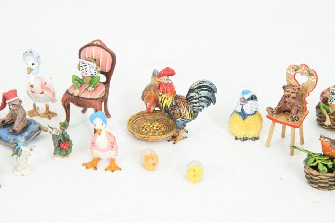 (21) AUSTRIAN COLD PAINTED BRONZE FIGURINES - 2