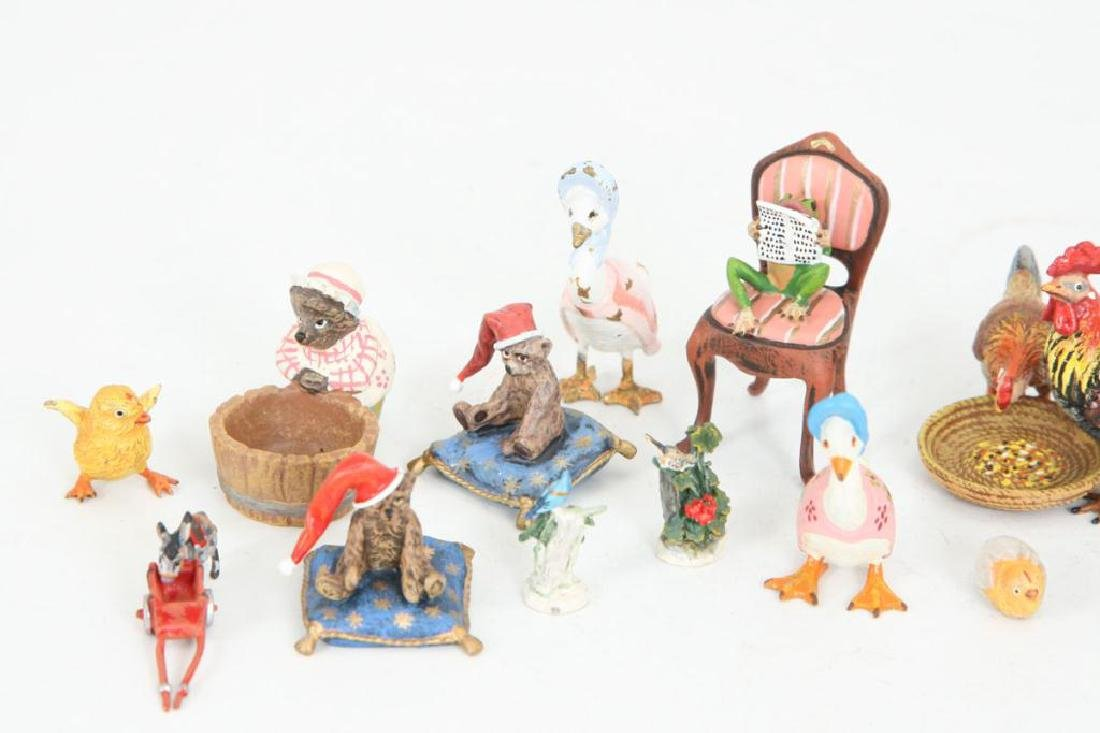(21) AUSTRIAN COLD PAINTED BRONZE FIGURINES - 4
