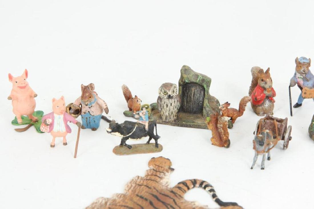(15) AUSTRIAN BRONZE COLD PAINTED FIGURINES - 2