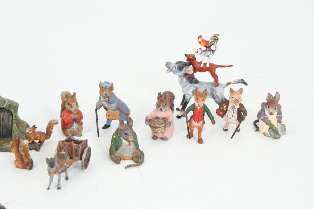 (15) AUSTRIAN BRONZE COLD PAINTED FIGURINES - 3