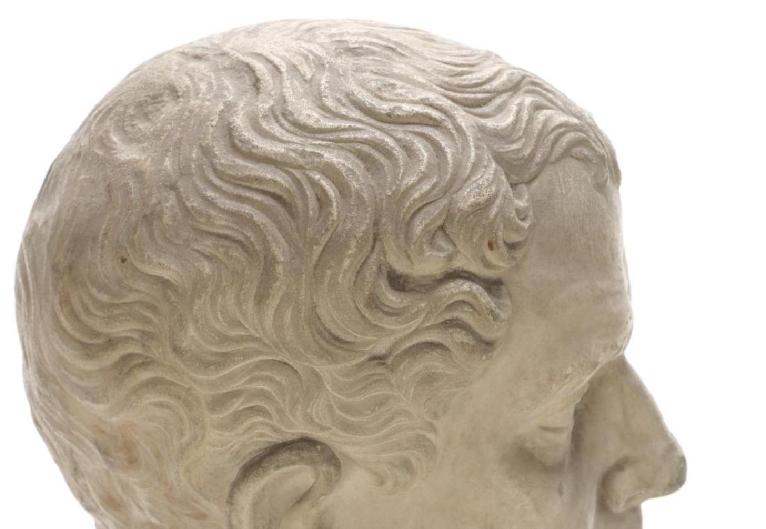 CLASSICAL ROMAN PERIOD MARBLE CARVING - 10