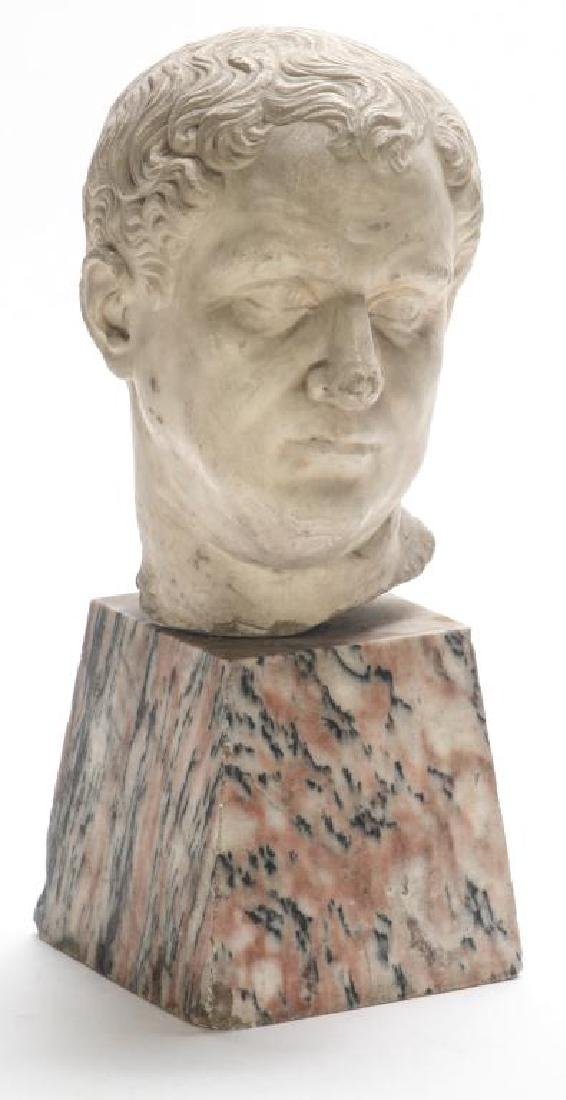 CLASSICAL ROMAN PERIOD MARBLE CARVING