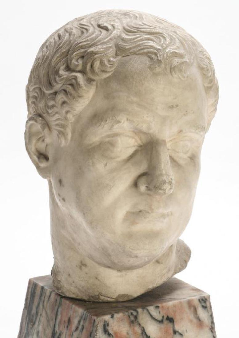 CLASSICAL ROMAN PERIOD MARBLE CARVING - 2