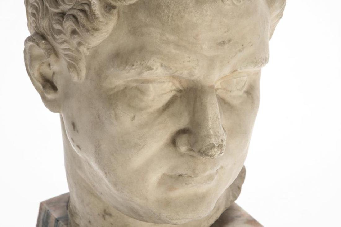 CLASSICAL ROMAN PERIOD MARBLE CARVING - 4