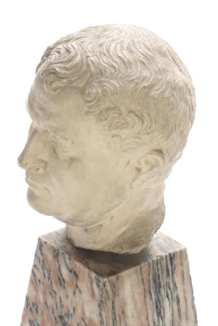 CLASSICAL ROMAN PERIOD MARBLE CARVING - 6