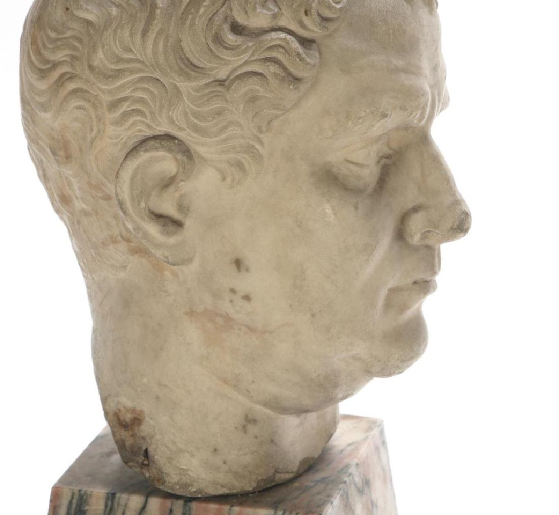 CLASSICAL ROMAN PERIOD MARBLE CARVING - 9