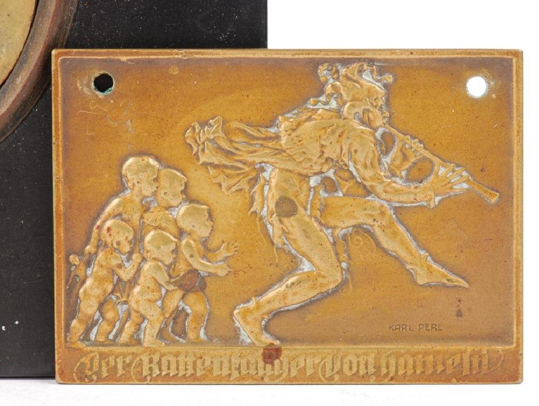 (3) SMALL PLAQUES IN LOW RELIEF - 6