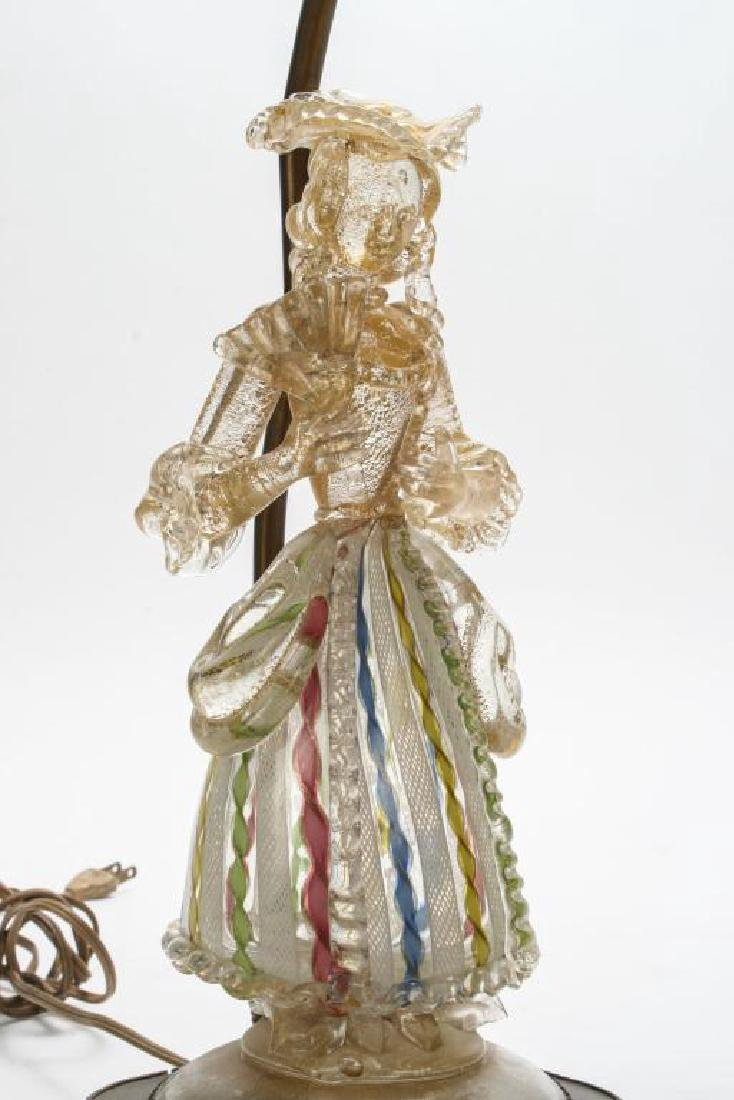 MURANO GLASS FIGURE OF WOMAN FOR BAROVIER & TOSO?