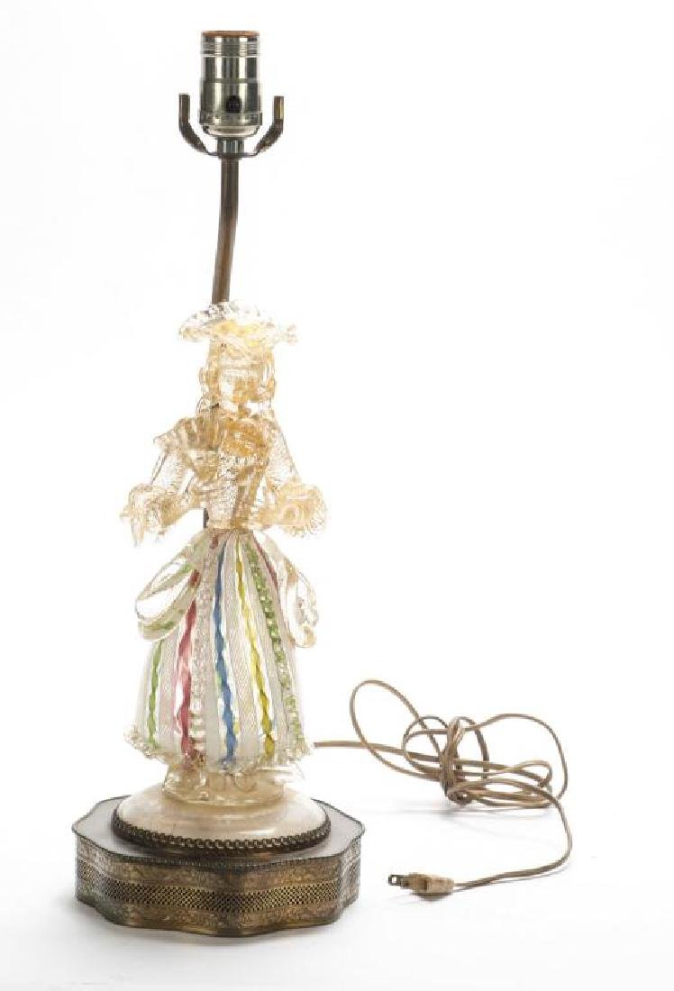 MURANO GLASS FIGURE OF WOMAN FOR BAROVIER & TOSO? - 4