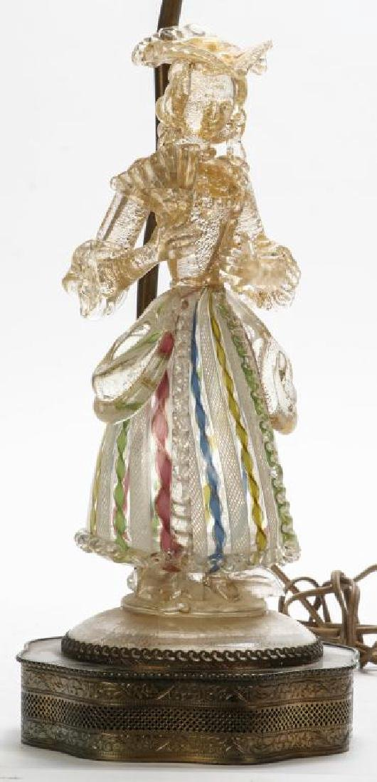 MURANO GLASS FIGURE OF WOMAN FOR BAROVIER & TOSO? - 6