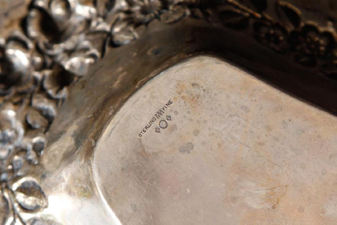 BALTIMORE SILVERSMITHS STERLING SILVER BREAD TRAY - 5