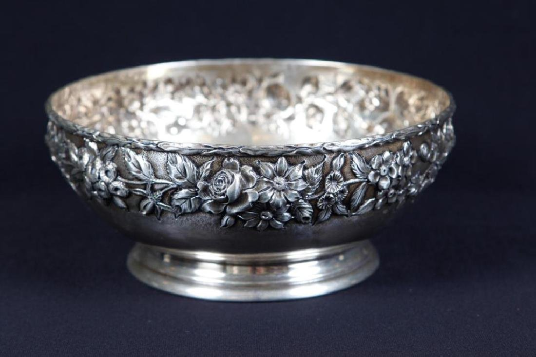 S. KIRK AND & SON CO. STERLING SILVER BOWL