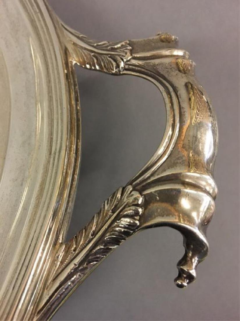 LIONEL ALFRED CRICHTON STERLING SILVER TRAY - 4