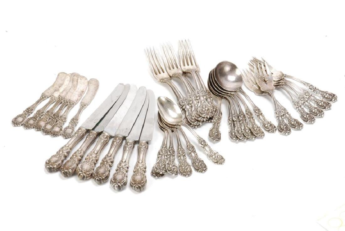 "REED & BARTON ""FRANCIS I"" STERLING SILVER FLATWARE"