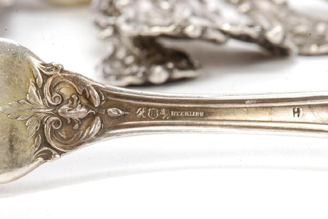"REED & BARTON ""FRANCIS I"" STERLING SILVER FLATWARE - 2"