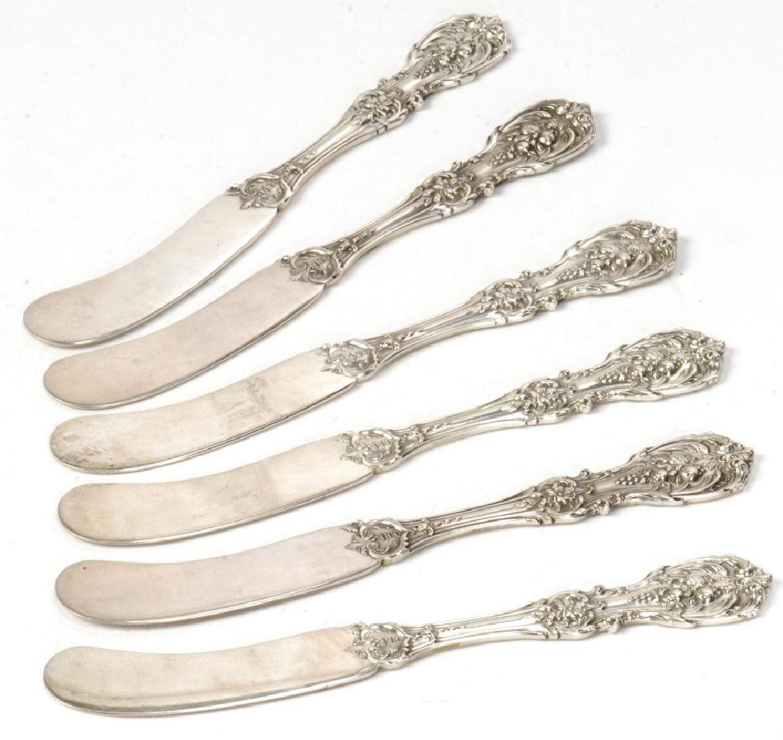 (6) STERLING SILVER REED & BARTON BUTTER SPREADERS - 5