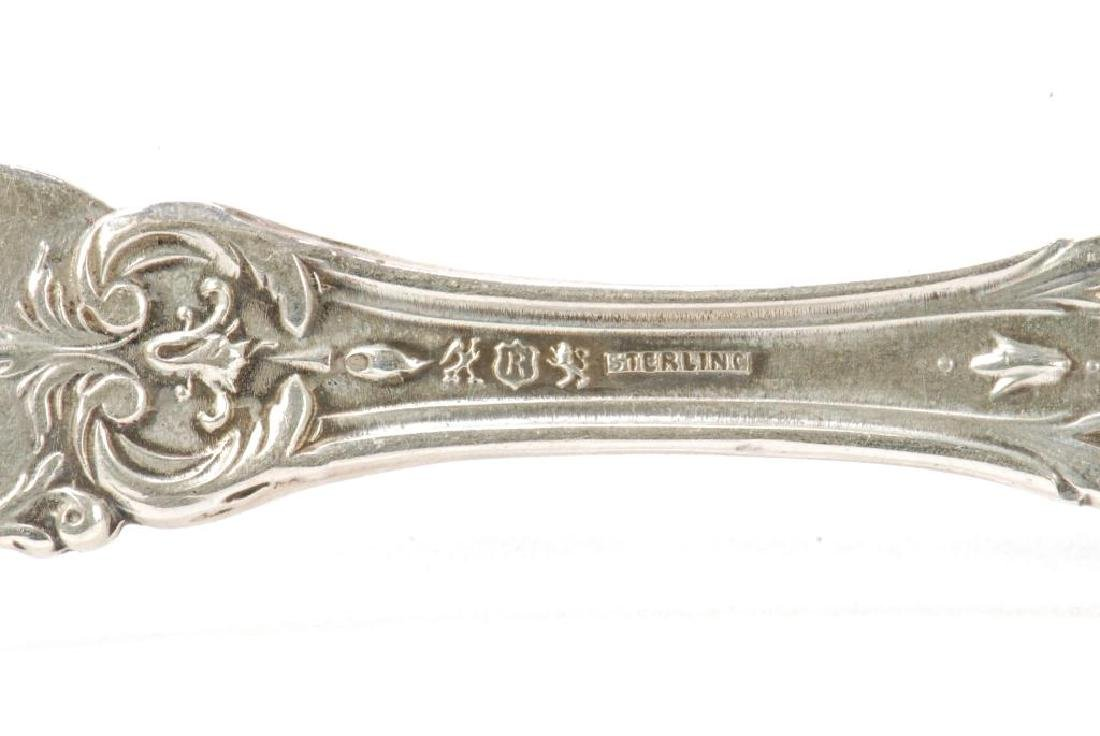 (6) STERLING SILVER REED & BARTON BUTTER SPREADERS - 8