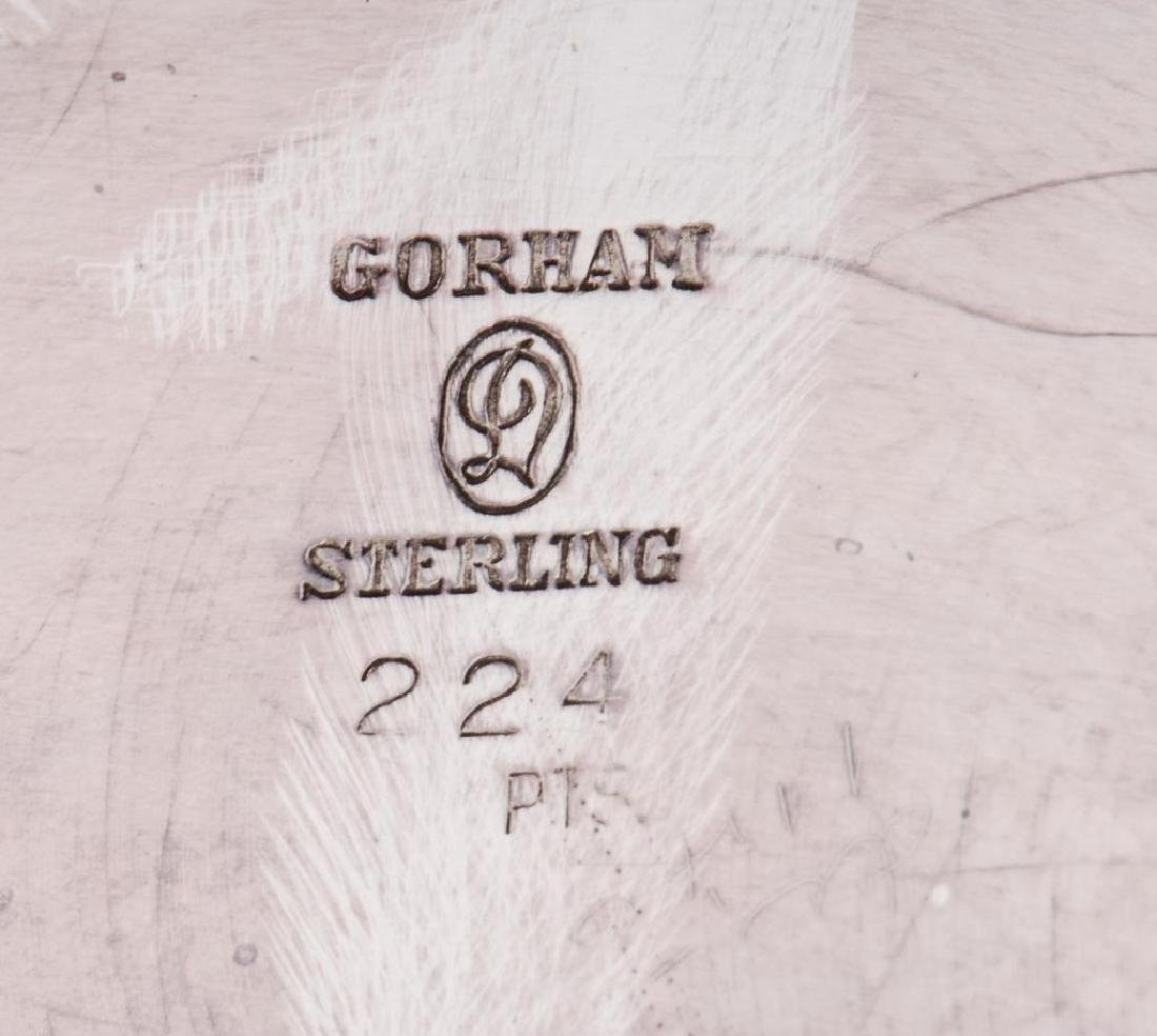 GORHAM STERLING SILVER WATER PITCHER - 10