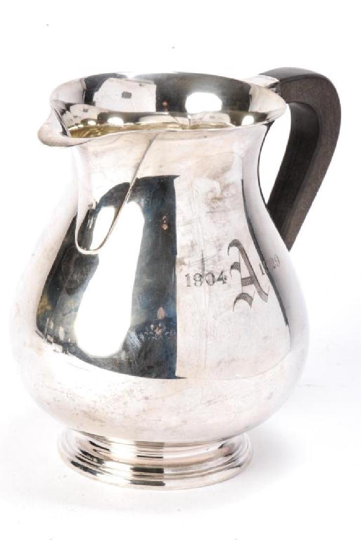 GORHAM STERLING SILVER WATER PITCHER - 3