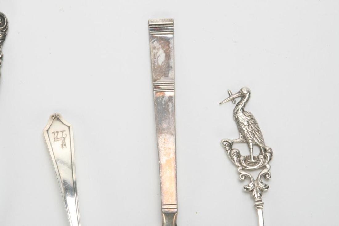 (10) PIECES OF STERLING SILVER INCL. GRAPE SHEARS - 6