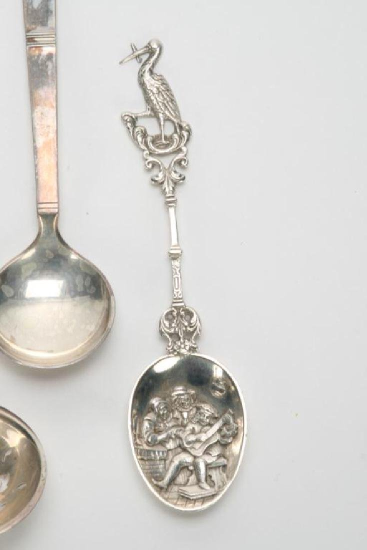 (10) PIECES OF STERLING SILVER INCL. GRAPE SHEARS - 7