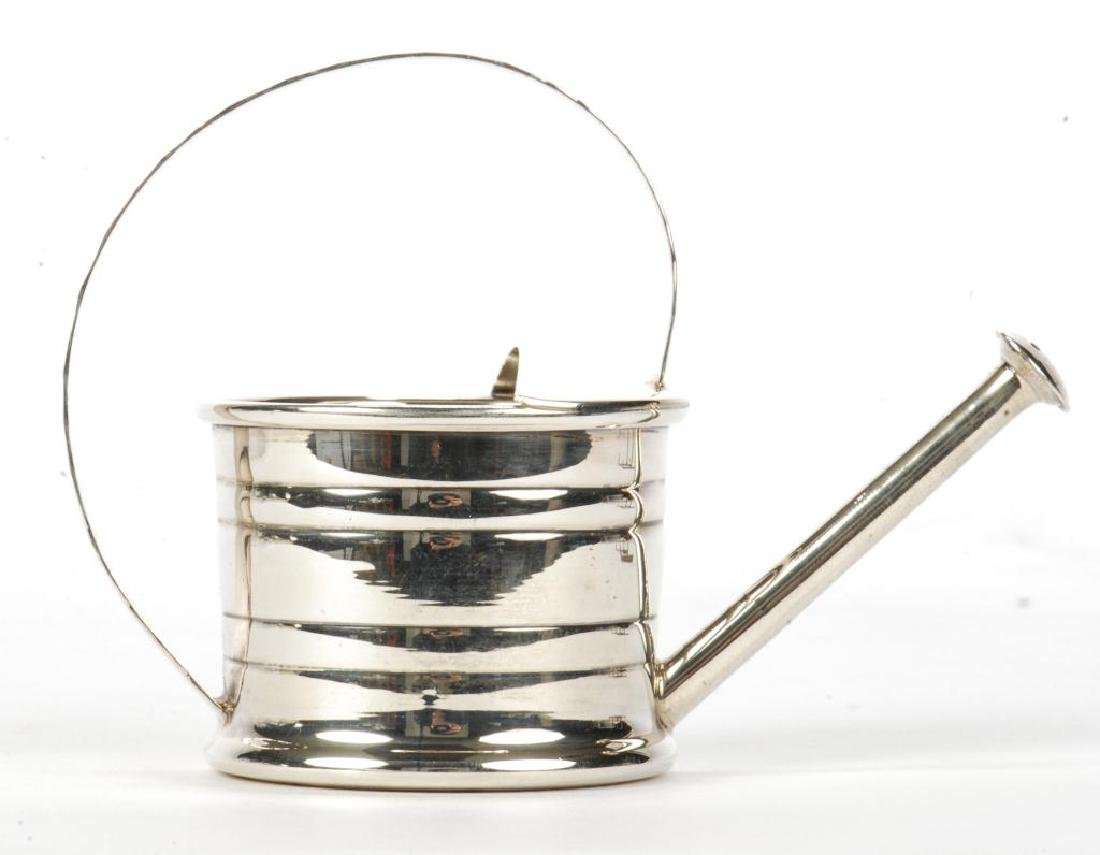MINIATURE CARTIER STERLING SILVER WATERING CAN