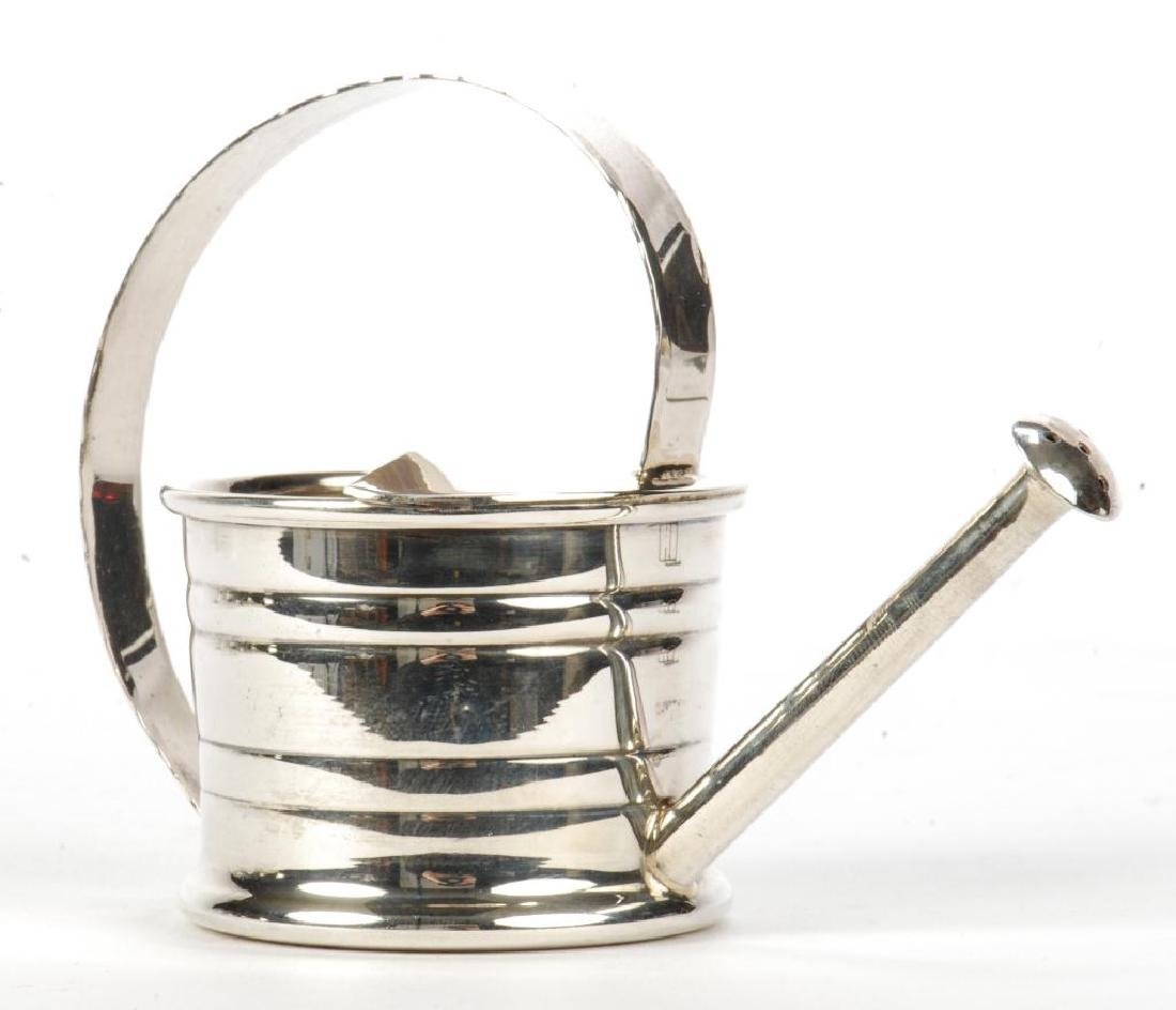 MINIATURE CARTIER STERLING SILVER WATERING CAN - 3