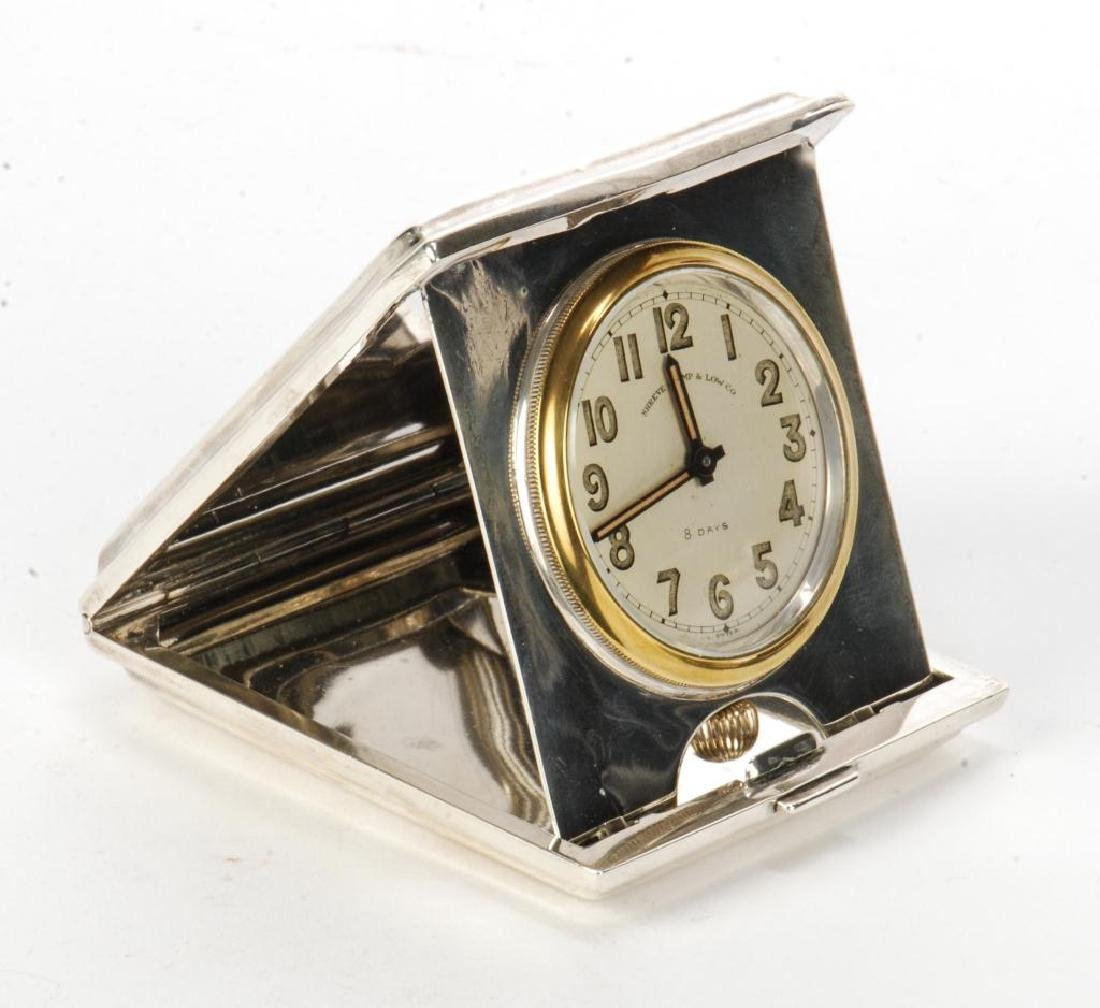 SHREVE CRUMP AND LOW TRAVEL CLOCK - 2