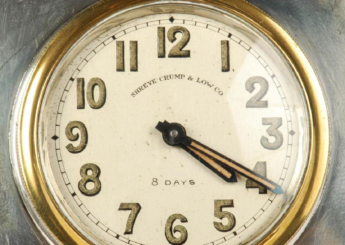 SHREVE CRUMP AND LOW TRAVEL CLOCK - 5