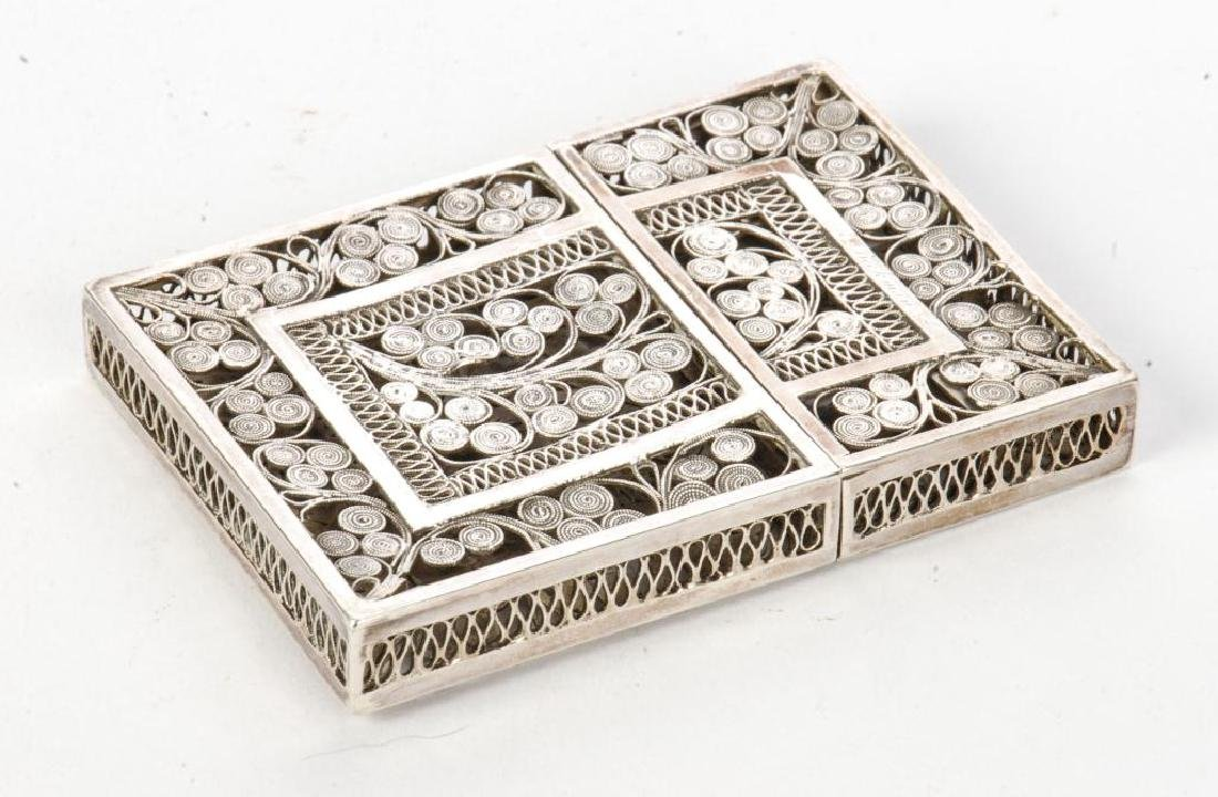STERLING SILVER CALLING CARD CASE