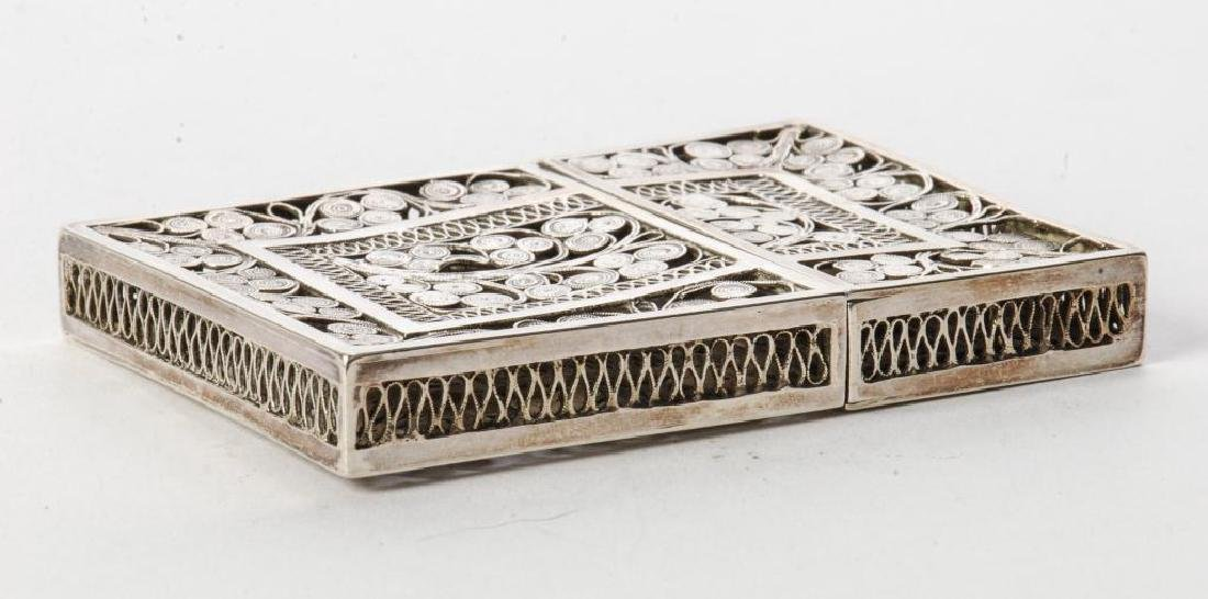 STERLING SILVER CALLING CARD CASE - 5
