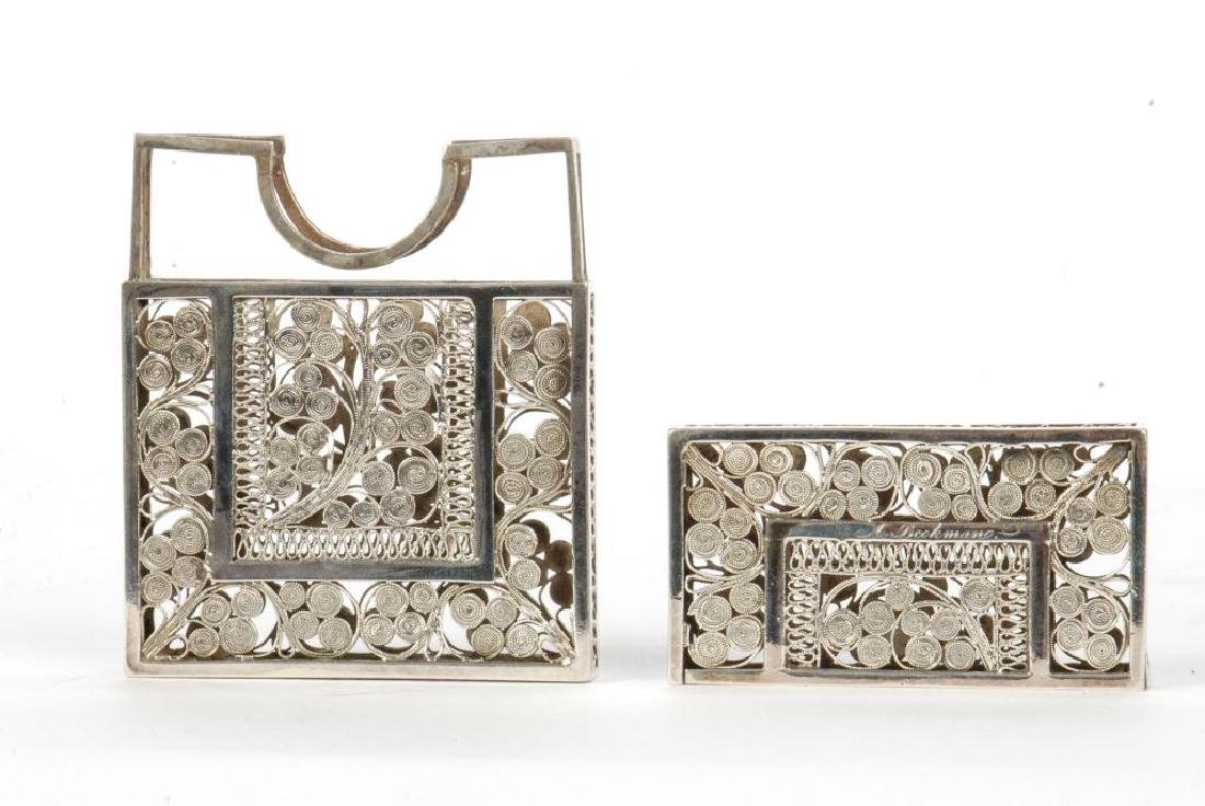 STERLING SILVER CALLING CARD CASE - 6