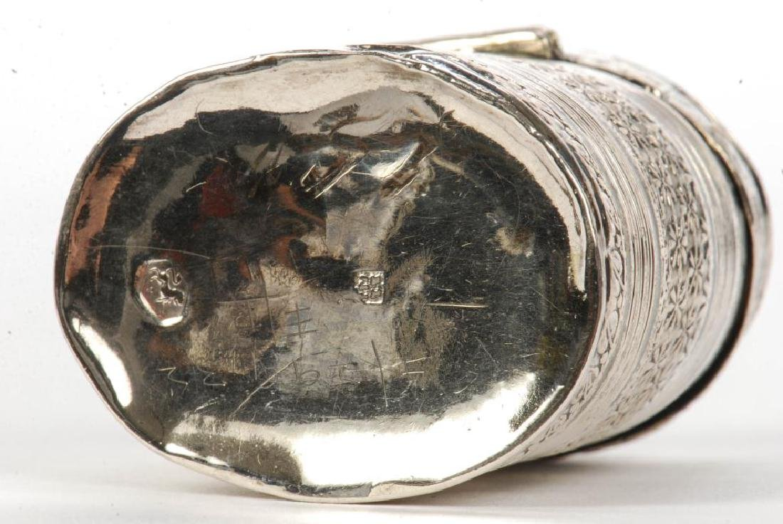 (2) STERLING SILVER HINGED PILL BOXES - 2