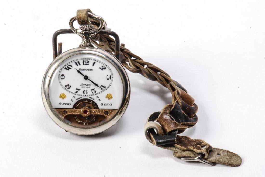 SWISS ARNEX HEBDOMAS 8 DAY POCKET WATCH