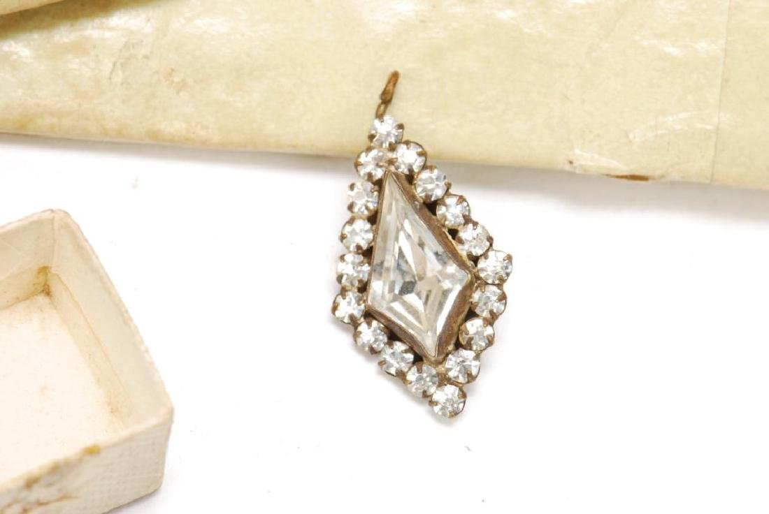 (18th) CENTURY EARRINGS, PENDENT AND RING - 6