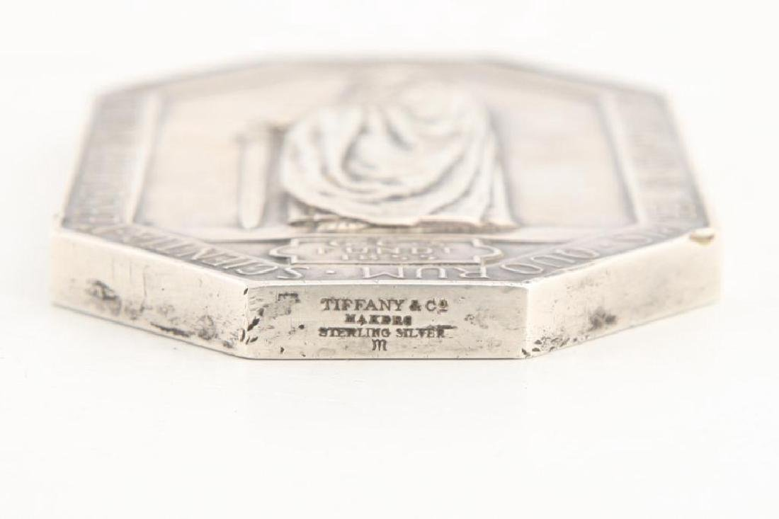 TIFFANY & CO STERLING ST. PAUL'S PAPERWEIGHT - 2