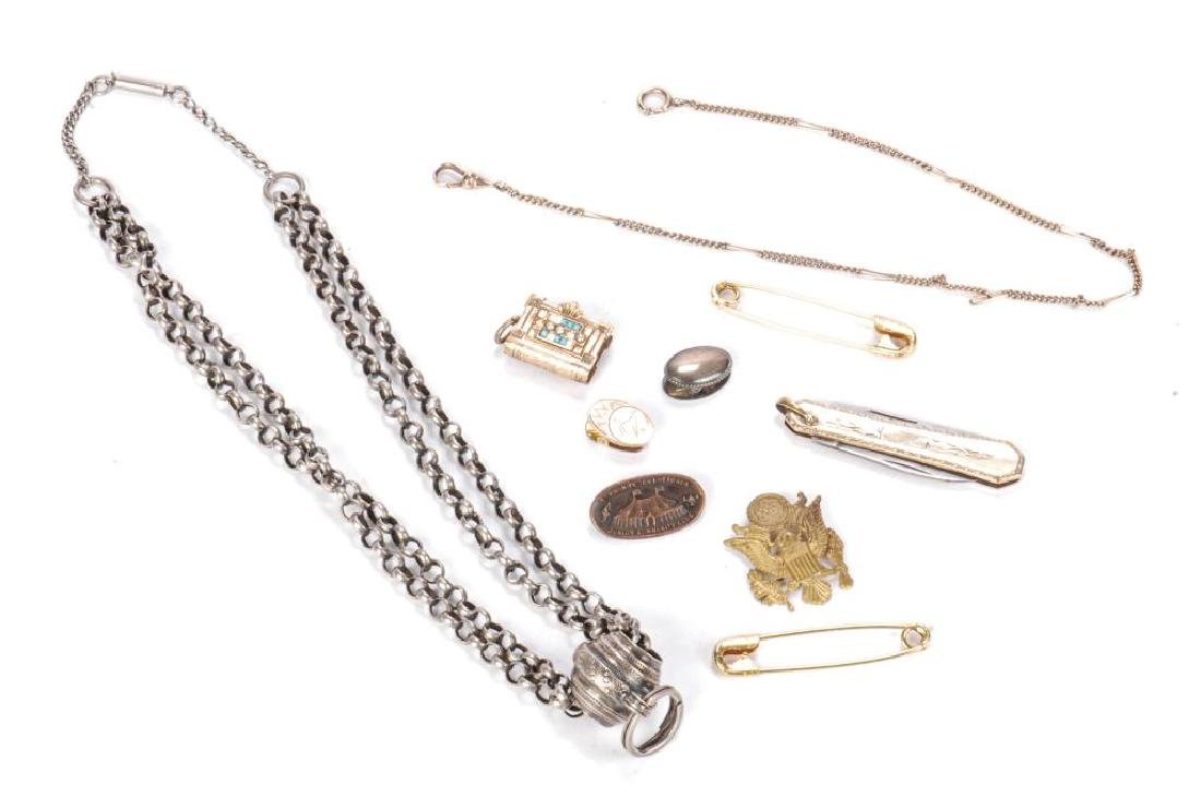 LOT OF JEWELRY AND OTHER KEEPSAKES