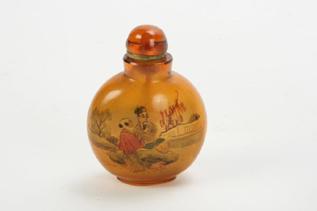 (2) CHINESE SNUFF BOTTLES - 2