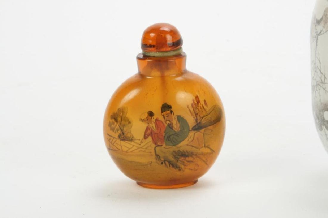 (2) CHINESE SNUFF BOTTLES - 5