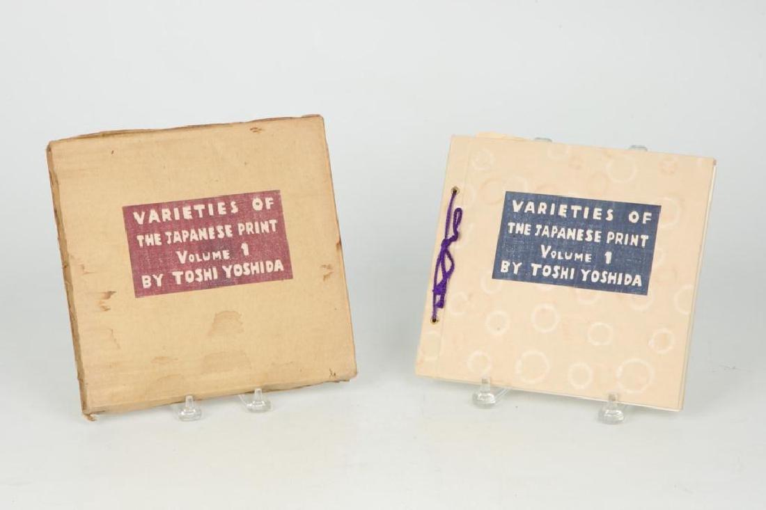 "TOSHI YOSHIDA ""VARETIES OF THE JAPANESE PRINT"""
