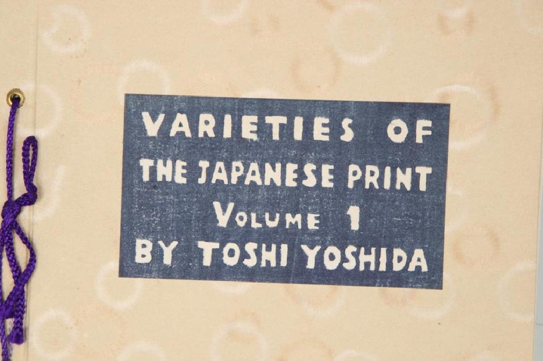 "TOSHI YOSHIDA ""VARETIES OF THE JAPANESE PRINT"" - 4"