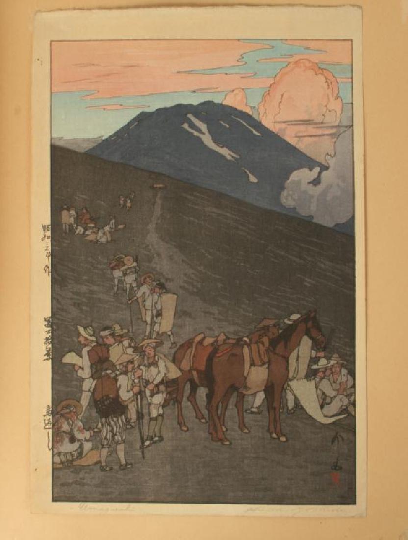 UMAGAESHI JAPANESE WOODBLOCK PRINT - 6