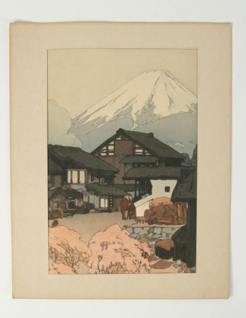 UMAGAESHI JAPANESE WOODBLOCK PRINT