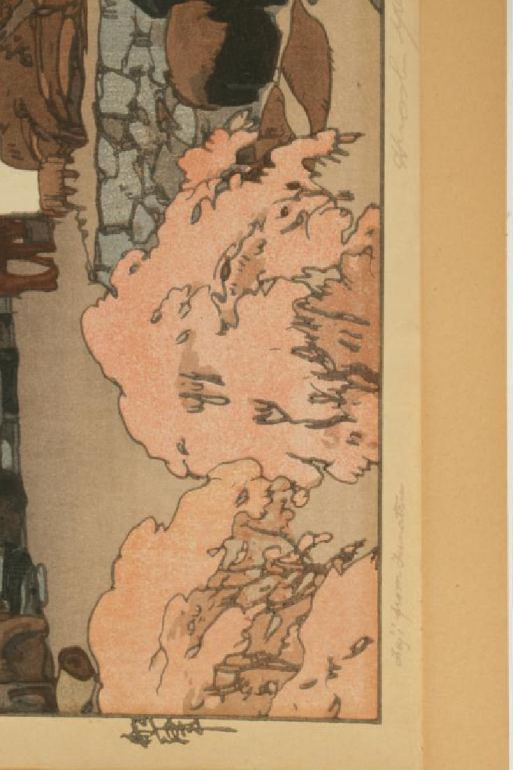 UMAGAESHI JAPANESE WOODBLOCK PRINT - 4