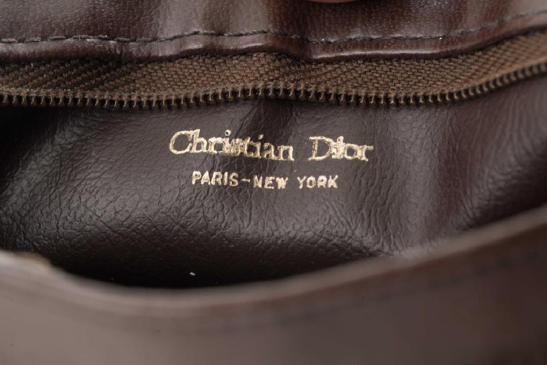 CHRISTIAN DIOR SHOULDER BAG & ST. THOMAS PURSE - 2