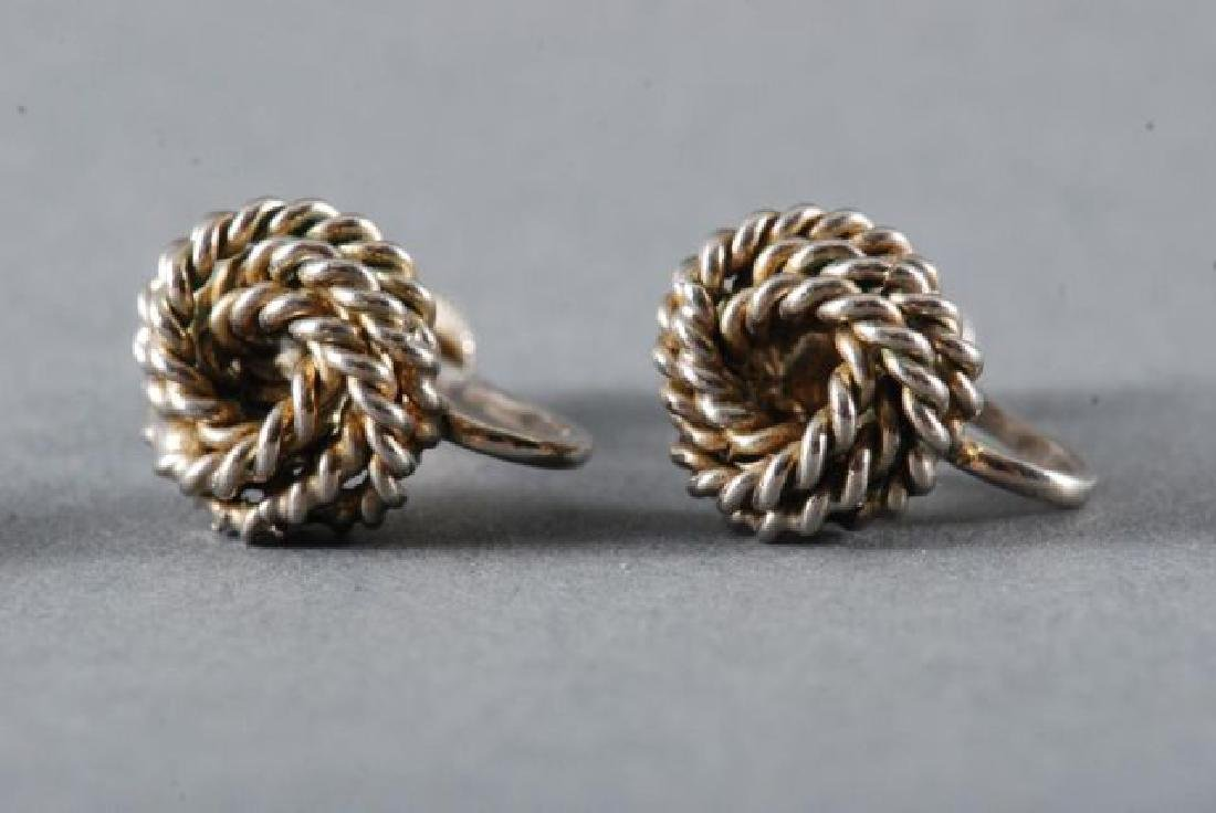 (1) PAIR OF 18K GOLD EARRINGS and (2) OTHERS - 3