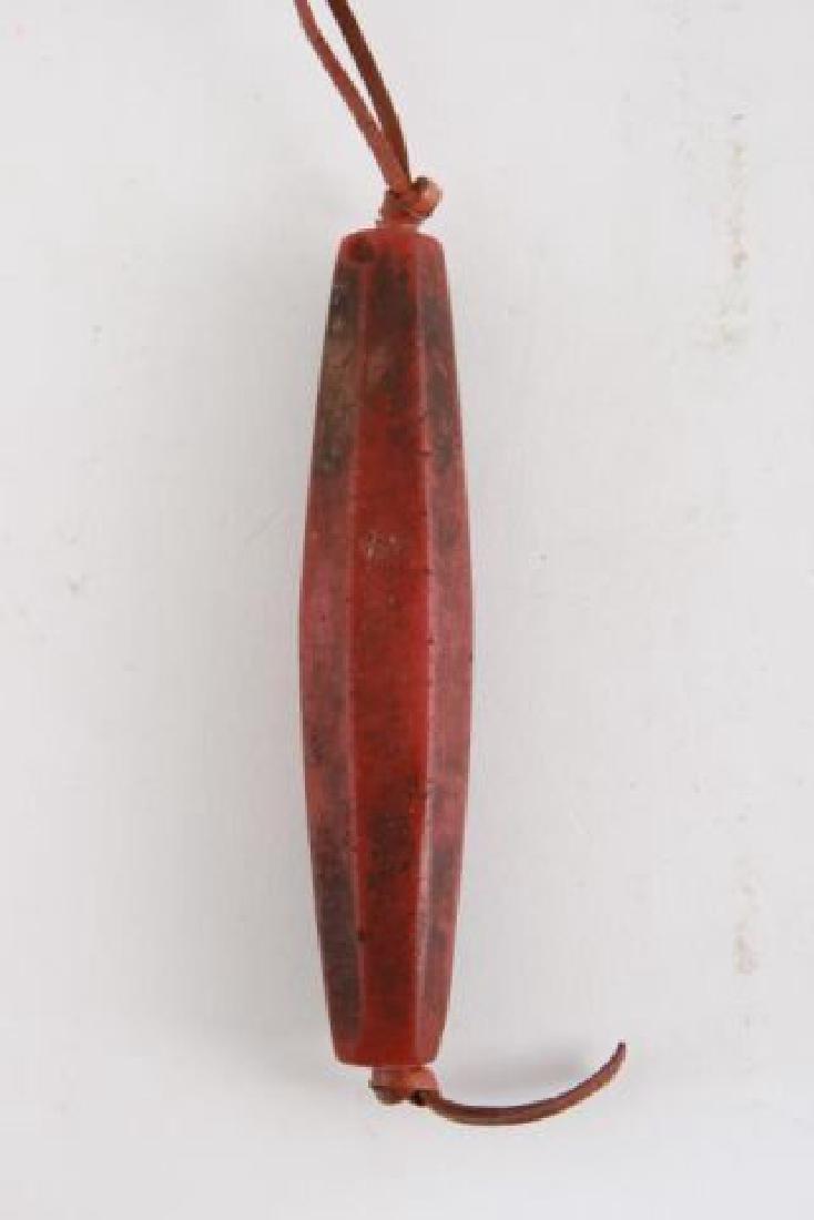 PRE-COLUMBIAN TAIRONA CARNELIAN BEAD - 4